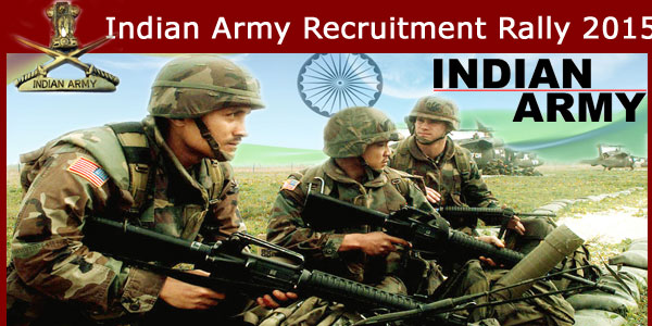 Army Recruitment Rally 2015
