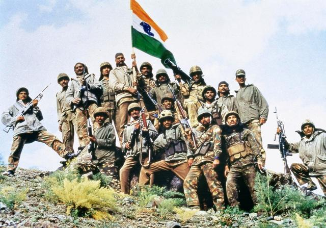 Indian Army after winning Kargil War