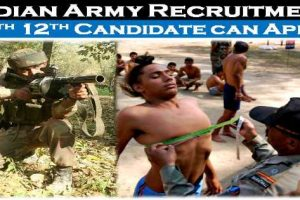 AROGuntur Army Rally Bharti 2021-2022 Age, Height, Weight, Chest, Qualification, PFT, medical and more