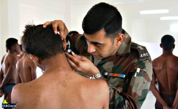 आर्मी रैली भर्ती मेडिकल टेस्ट Army Bharti Recruitment Medical Test 2021-2022
