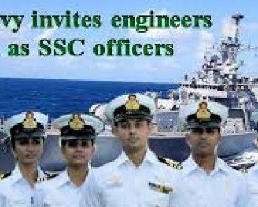नेवी भर्ती 10+2 Pass Navy SSR Bharti 2021-2022, Nausena Recruitment SSR Entry