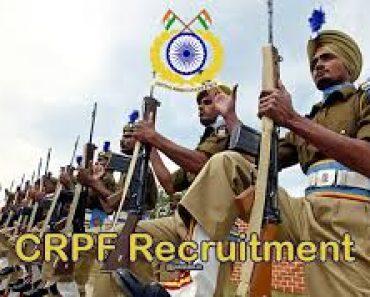 CRPFRecruitment Rally Bharti 2021-2022Paramedical Staff Constable HC ASI Physical Medical Written Selection Procedure CRPF