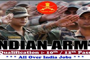 Khasa Army Bharti 2021-2022 Gurdaspur, Amritsar, Tarn Taran, Pathankot