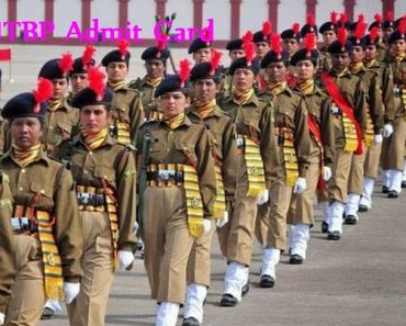 ITBP Bharti 2021-2022 Admit Card, Candidates Instructions