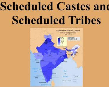एससी/एसटी जाति प्रमाणपत्र नया प्रारूप | SC/ST Caste Certificate Format in Hindi