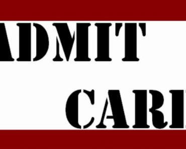 रेलवे भर्ती एडमिट कार्ड, हॉल टिकट, कॉल लेटर, ई कॉल लेटर डाउनलोड-RAILWAY BHARTI ADMIT CARD