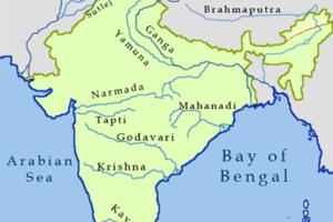 भारत की प्रमुख नदियाँ, लम्बाई, उद्गम, संगम, नदी किनारे शहर Important Rivers of India