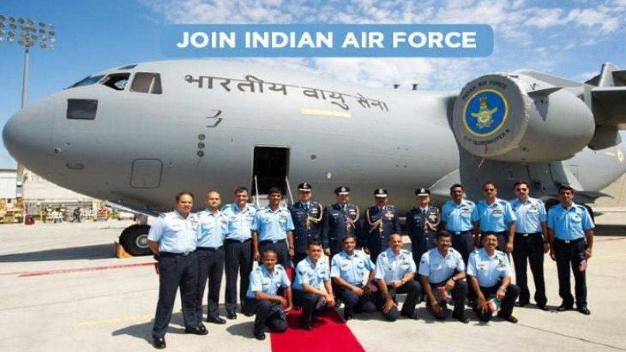 Indian Air Force Recruitment Program Group X&Y Airmen वायु सेना भर्ती 2021  - Kikali.in