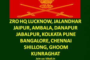 ZRO Zonal Recruiting Office Indian Army All HQ Rtg Zone Army Bharti Rally Program 2021-2022