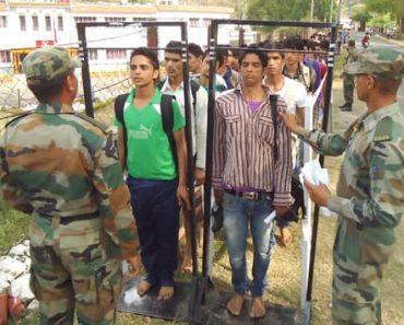 Kutch-Bhuj Army Rally Bharti 2021-2022 Application, Physical, Medical, Written