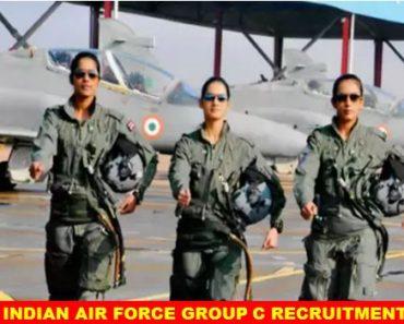 Indian Air Force Group C Civilian Eligibility Recruitment 2021-2022
