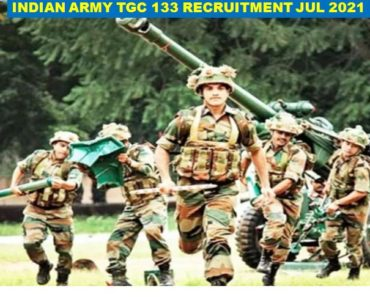 Technical Graduate Course Indian Army TGC 133 For Apply Jul 2021