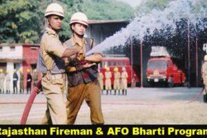 RJ Fire Service Bharti Program 2021 राजस्थान फायरमैन भर्ती 2021