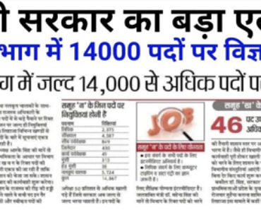 यूपी सिंचाई विभाग भर्ती 2021 Uttar Pradesh Sinchai Vibhag Recruitment 2021