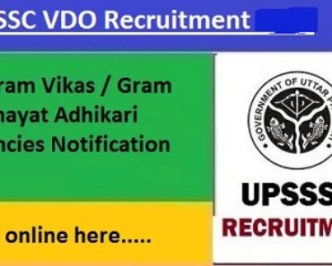 अलीगढ़ ग्राम विकास अधिकारी भर्ती 2021 Aligarh VDO Vacancy