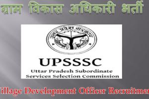 मेरठ ग्राम विकास अधिकारी भर्ती 2021 Meerut VDO Vacancy 2021