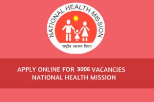 Karnataka NHM, GNM, ANM, Staff Nurse & CHO Recruitment 2021 3006 Post Vacancy Eligibility, Application, Apply Online
